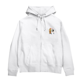 Autumn Shopping(クリア) Zip Hoodie