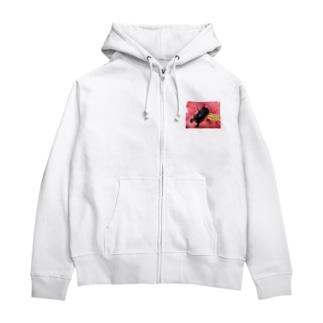 クワガタ ☆タランドゥス☆3 Zip Hoodie