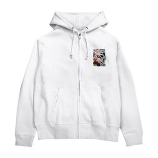 ハラキリガール(Harakiri Girl) Zip Hoodies