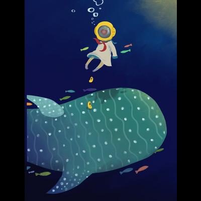 潜水ちゃん