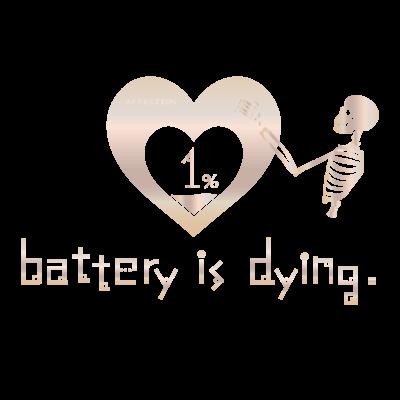 バッテリーが死にそうです
