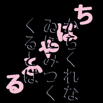 文字・メッセージ