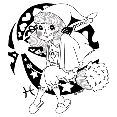 12星座娘「うお座」