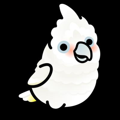 Chubby Bird シロビタイムジオウム