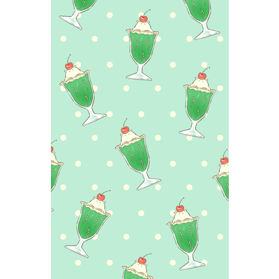 メロンクリームソーダ コ