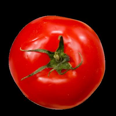 上からトマト