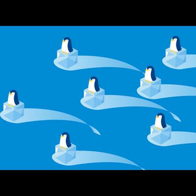 シリーズ:氷とペンギン