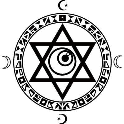 魔法陣×六芒星×目玉