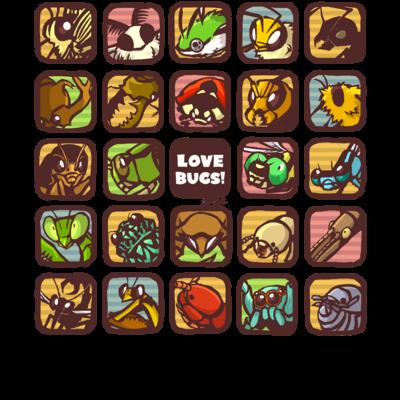 Love Bugs!シリーズ