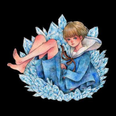 水晶少年アクリルブロック