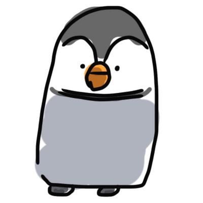 ぼんやりペンギン