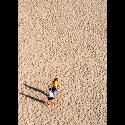 砂丘と廃墟