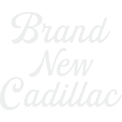 brand new cadillac