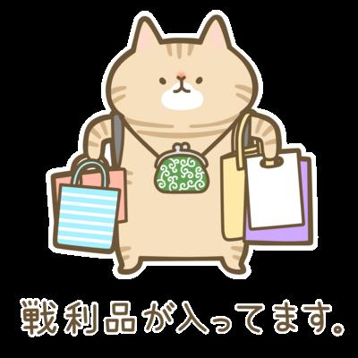茶トラ猫ちゃんの戦利品