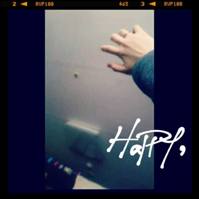 Yeah, I  AM  HAPPY,