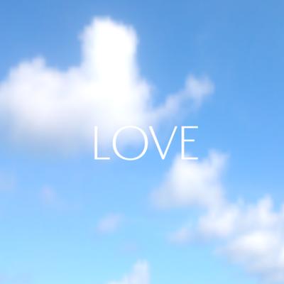 LOVEアクリルブロック