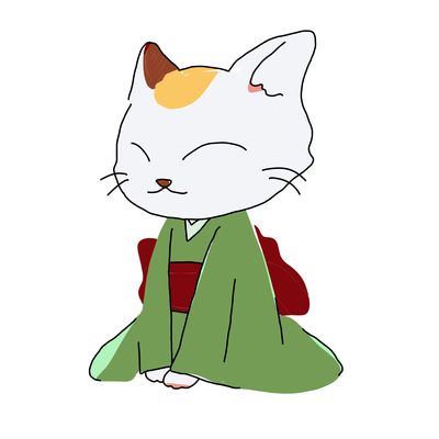 抹茶猫ちゃん