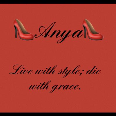 Anyaとして、残していきたいです!Anyaは、ちょっとしたデザインのネームです