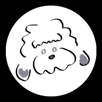 シンプルな犬