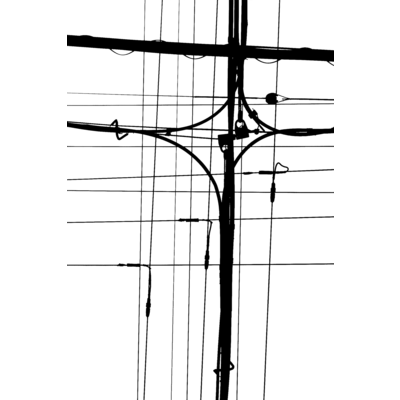 電線スマホケース