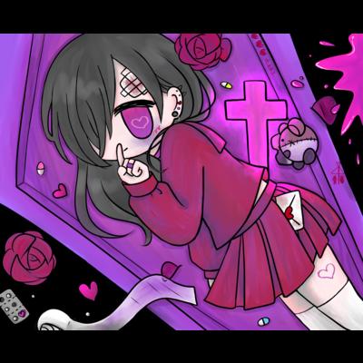 闇堕ちセーラー少女
