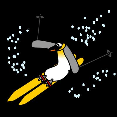 スキーペンギン