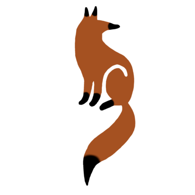 キツネのデザイン