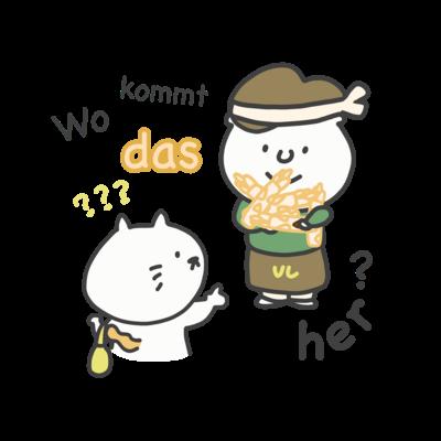 Wo kommt das her?: ドイツ語イラストグッズ