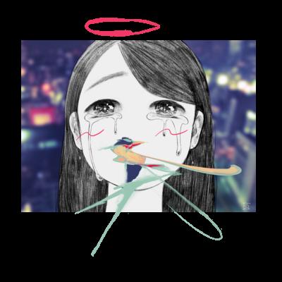 それは天使も泣くわな~