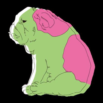 ジト目bulldogシリーズ