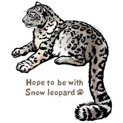 Snow leopard*ユキヒョウ