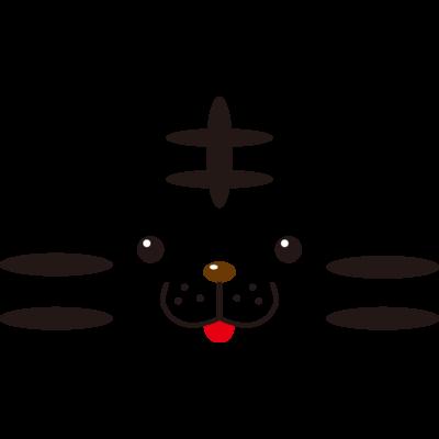 動物フェイスシリーズ