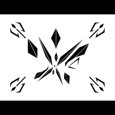 白黒のスマホカバー