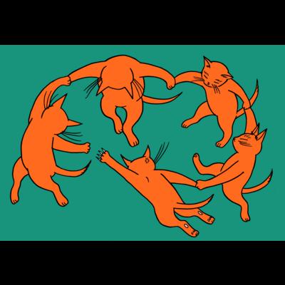 ネコのダンス