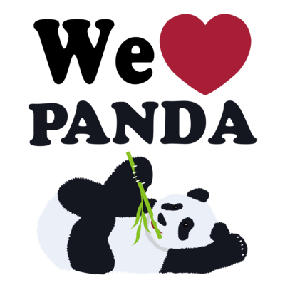 we love パンダ