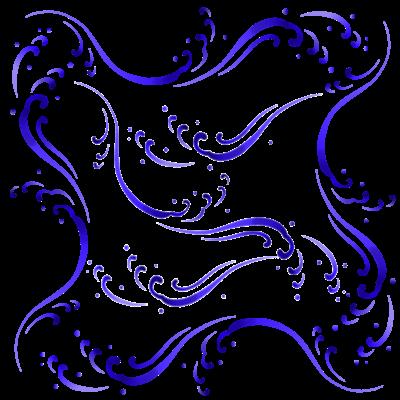 波のデザイン