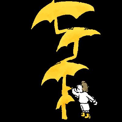 のびのび傘
