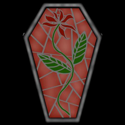 【Side fallen】Coffin_緋の花