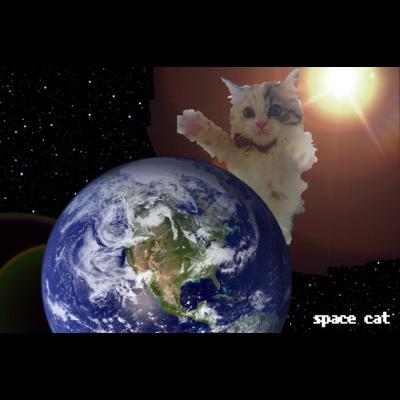 スペースキャット地球侵略
