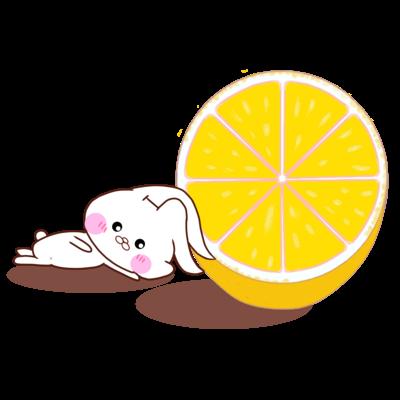 ふにゃうさころとオレンジ