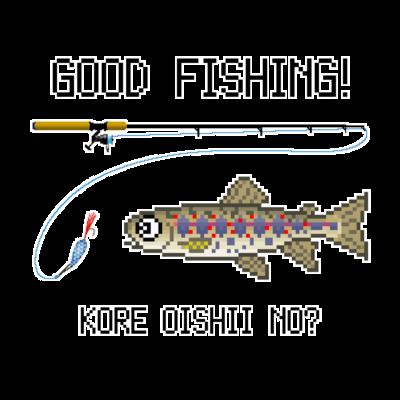 Tシャツ(淡水魚)