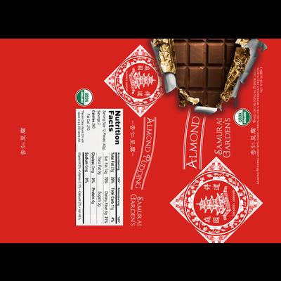 杏仁豆腐板チョコ