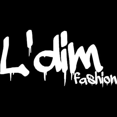 L'dim fashion 白ロゴ