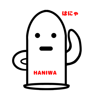 HANIWATシャツ