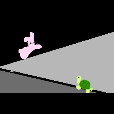 ウサギちゃん・カメちゃん