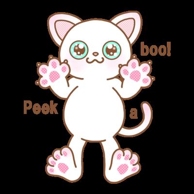 😺Peek a boo!😄