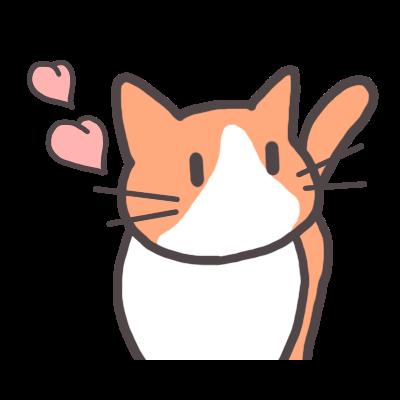 ♡♡🐈茶白猫リン