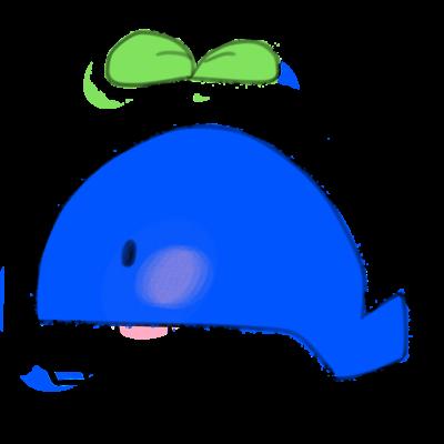 発芽したクジラ