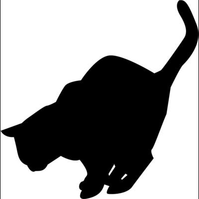 猫ちゃんシルエット