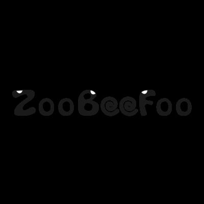 ZooBeeFoo黒ロゴ